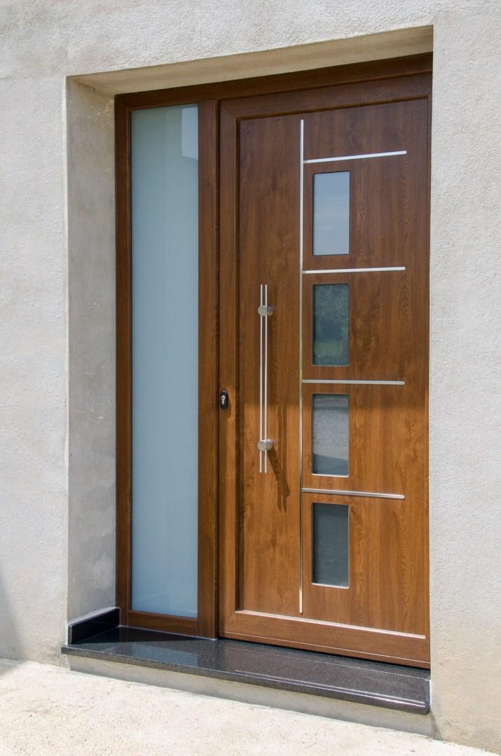 Puertas de entrada de pvc best puerta de entrada with for Puertas de calle de pvc