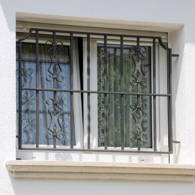 Ventanas aluminio PVC y rejas seguridad